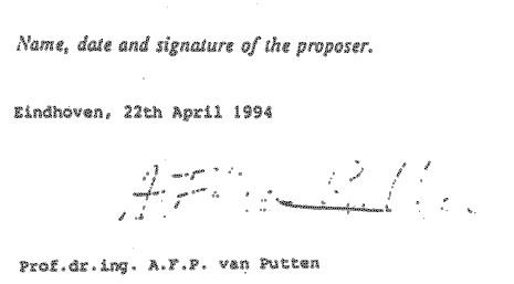 Vervalste handtekening